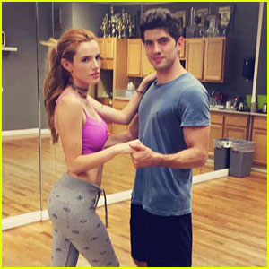 Carter Jenkins Shares 'Famous In Love' Dance Rehearsal Video With Bella Thorne