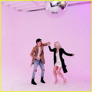 Dove Cameron & Thomas Doherty Dance Like No One's Watching!