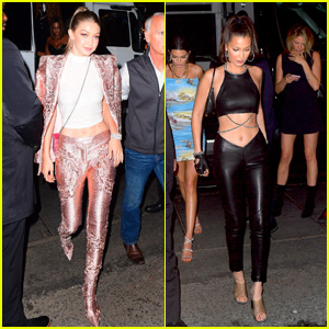 Gigi & Bella Hadid Celebrate Together at the Met Gala 2018 After Parties!