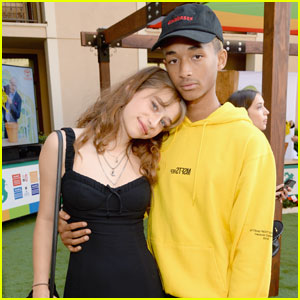 Jaden Smith & Odessa Adlon Couple Up For Prom Night!