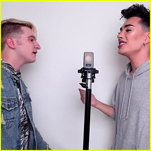 James Charles Covers 'No Tears Left To Cry' During Sing Off - Watch!