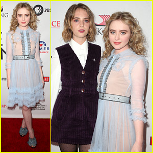 Here's How Kathryn Newton & Maya Hawke Got Into Character For The 'Little Women' Mini Series