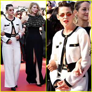 Kristen Stewart Marches for Equality at Cannes Film Festival
