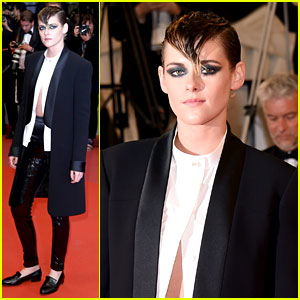 Kristen Stewart Switches Into an Edgy Outfit for Her Second Cannes Look of the Day!