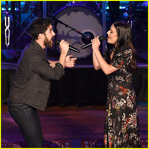 Lea Michele & Darren Criss Begin Their 'LM/DC Tour' in Tennessee!