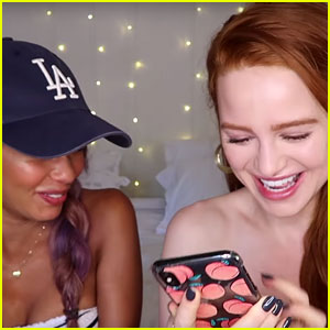 Madelaine Petsch & Vanessa Morgan Answer More of Your Burning Choni Questions (Video)