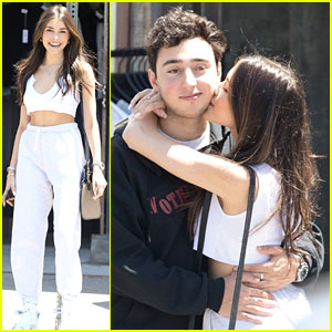 Madison Beer & Boyfriend Zack Bia Show Some Sweet PDA!