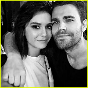 The Vampire Diaries' Nina Dobrev & Paul Wesley Reunite!