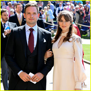 Troian Bellisario Attends Royal Wedding with Husband Patrick J. Adams!