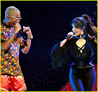 Camila Cabello Joins Pharrell Williams for Billboard Music Awards 2018 Performance!