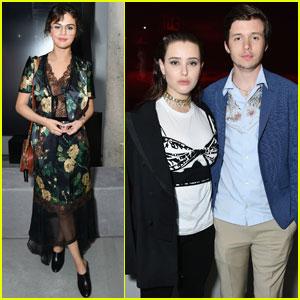 Selena Gomez & Katherine Langford Celebrate 'Prada' in NYC