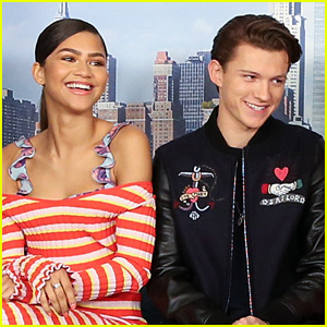 Tom Holland Praises Zendaya's Powerful Look at Met Gala 2018