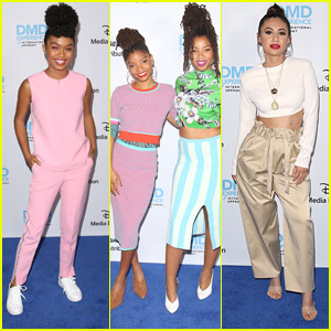 Yara Shahidi, Francia Raisa, Anne Winters & More Hit ABC International Upfronts 2018