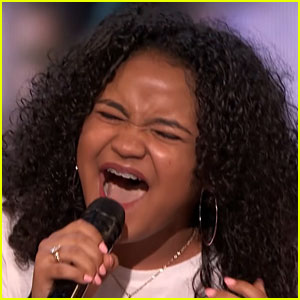 Amanda Mena Gets Golden Buzzer for Amazing Vocal Performance on 'AGT'