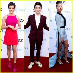 Andi Mack's Peyton Elizabeth Lee, Sofia Wylie, Asher Angel & Joshua Rush Hit TV Academy Honors 2018