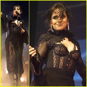 Camila Cabello Celebrates Making Music History During Glasgow Concert