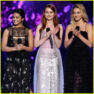 Camila Mendes Is 'Down' For 'Totally Spies!' Live-Action With Lili Reinhart & Madelaine Petsch