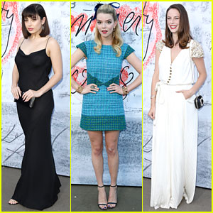 Charli XCX, Anya Taylor-Joy, & Kaya Scodelario Stop By Serpentine Summer Party