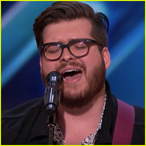 'Glee' Alum Noah Guthrie Auditions for 'AGT' - Watch Now!
