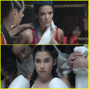 Lauren Jauregui Joins Halsey in 'Strangers' Music Video - Watch Now!