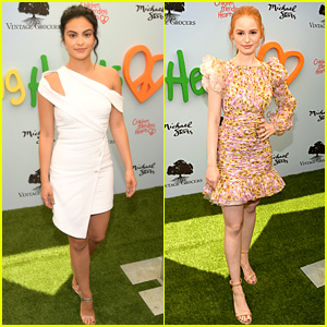 Riverdale's Camila Mendes & Madelaine Petsch Honored at Children Mending Hearts Event