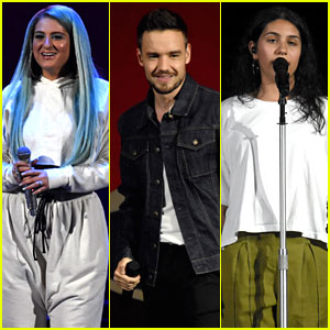Meghan Trainor, Liam Payne, & Alessia Cara Take The Stage at B96 Summer Bash!