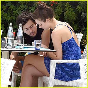 Nat Wolff & Grace Van Patten Get Close While Spending Time Together on Vacation in Italy!
