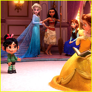 Disney Princesses Make Cameo in New 'Wreck-It Ralph 2' Trailer!
