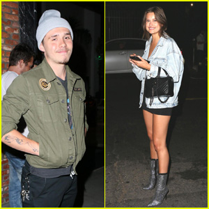 Brooklyn Beckham & Lexi Wood Hit the Town Together & Party at Tao!