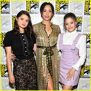 Sarah Jeffery Joins 'Charmed' Cast at Comic-Con!