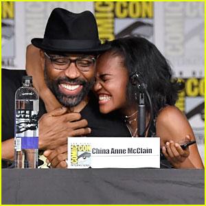 China McClain & 'Black Lightning' Cast Debut Season 2 Trailer at Comic-Con