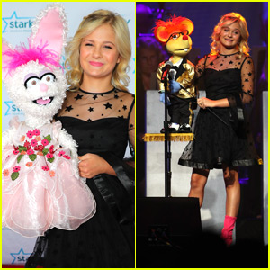 Darci Lynne Farmer Brings Petunia & Oscar to Starkey Hearing Gala 2018