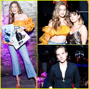 Charli XCX, Dylan Sprouse, Patrick Schwarzenegger, & More Celebrate Gigi Hadid's 'V' Magazine Covers