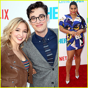 Joey Bragg Gets Support From Girlfriend Audrey Whitby at 'Father Of The Year' Premiere