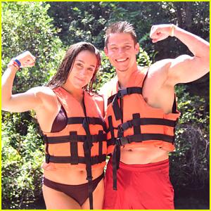 Olympian Couple Jordyn Wieber & Boyfriend Chris Brooks Enjoy a Romantic Vacation in Cancun!
