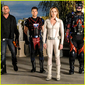 Caity Lotz Shares Super Silly Pics of 'Legends of Tomorrow' Cast Ahead of Season 4 Filming