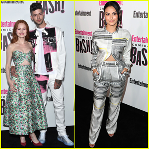 Madelaine Petsch & Boyfriend Travis Mills Join 'Riverdale' Co-Stars at Comic-Con Party!