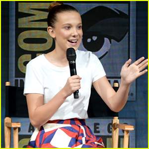 Millie Bobby Brown Debuts First 'Godzilla 2' Trailer at Comic-Con - Watch Now!