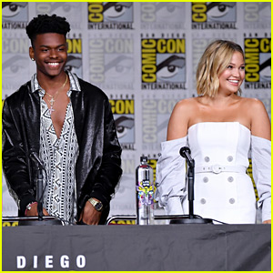 Olivia Holt & Aubrey Joseph Announce 'Cloak & Dagger' Season 2 at Comic-Con!