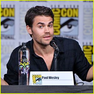 Paul Wesley Talks About 'Tell Me a Story' at Comic-Con!