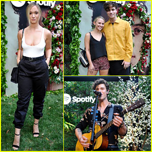 Alisha Marie, Madison Iseman, & Spencer Sutherland Catch Shawn Mendes' Private Show!