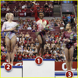 Simone Biles Takes Top Spot at U.S. Classic Gymnastics Competition 2018