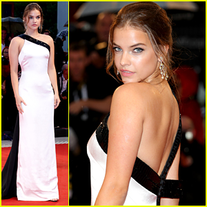Barbara Palvin Glams Up For 'A Star is Born' Venice Premiere