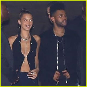 Bella Hadid & The Weeknd Couple Up for Kylie Jenner's 21st Birthday Party!