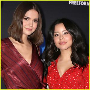 Cierra Ramirez & 'Good Trouble' Cast Support Maia Mitchell's New Movie