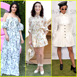 Emeraude Toubia Joins Meryl Davis & Kat Graham at Simply LA Beauty Conference