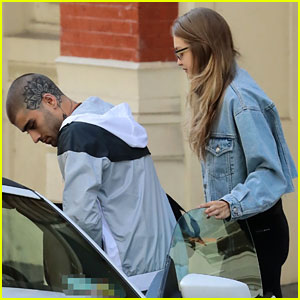Zayn Malik Shows Off Newly Shaved Head While Out With Gigi Hadid