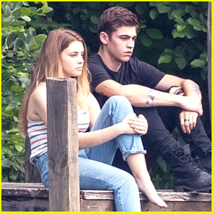 Josephine Langford & Hero Fiennes Tiffin Bring Tessa & Hardin to Life on 'After' Set