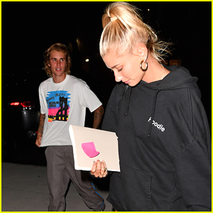 Justin Bieber Attends Church Service with Fiancee Hailey Baldwin