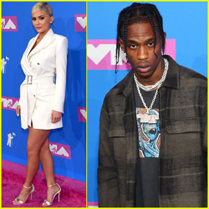 Kylie Jenner Supports Travis Scott at MTV VMAs 2018